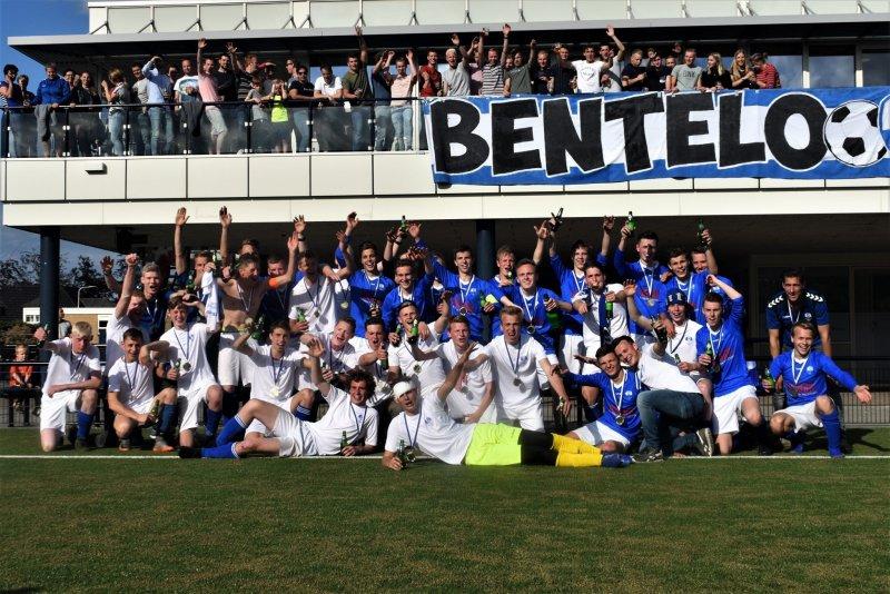 Bentelo JO19-1 en JO19-2 kampioen