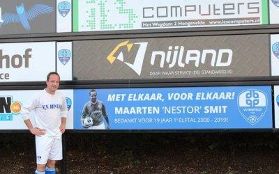 afscheidswedstrijd Maarten Smit