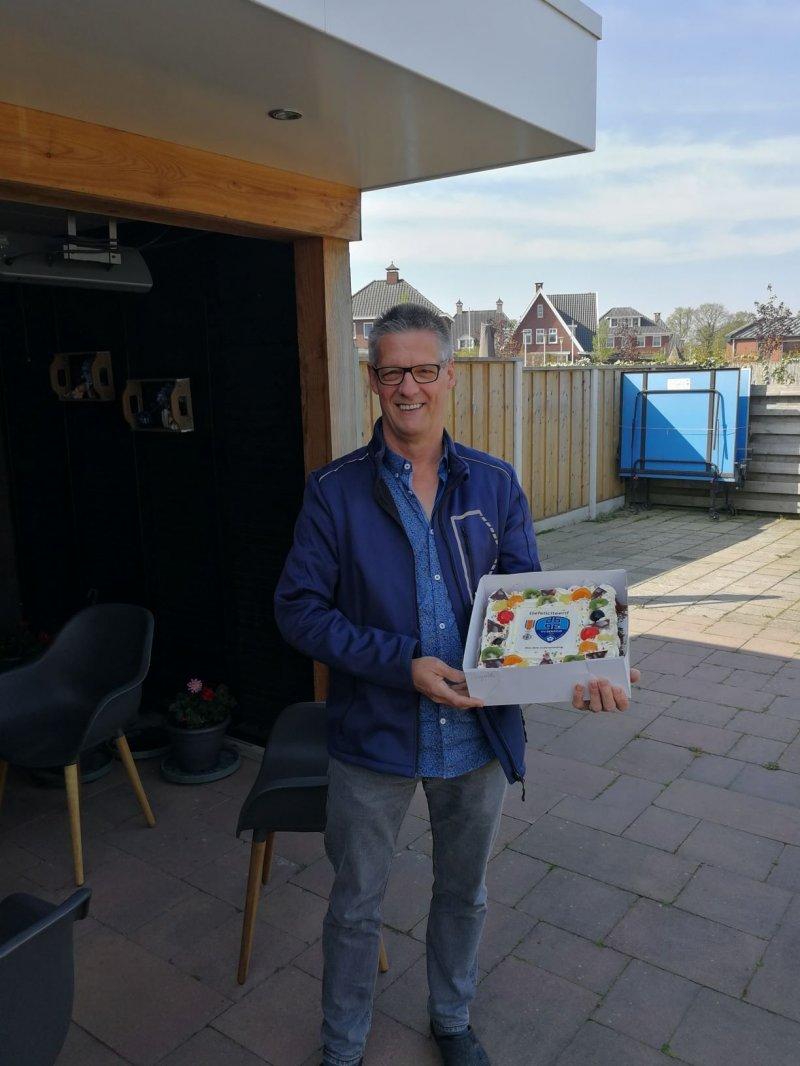 Theo Broekkamp Lid in de orde van Oranje Nassau