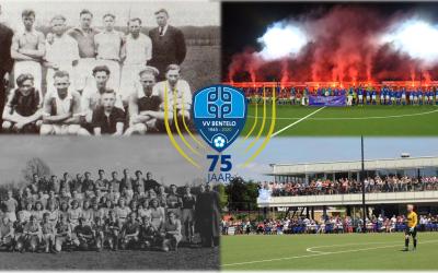 Jubileum 75 jaar V.V. Bentelo