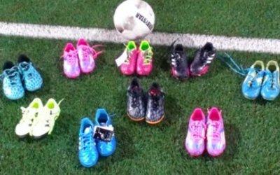Voetbalschoenen van Toon Katier